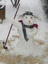 Bonhomme de neige, février 2005 -- Cliquez pour voir l'image en entier