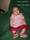 Cette fois, Éléa a deux mois ;-)